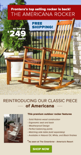frontera americana rocking chair   Home and Furniture Review