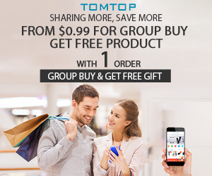 From $0.99 Group Buying @Tomtop.com