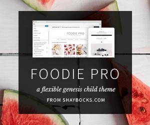 StudioPress Premium WordPress Themes: Foodie Theme