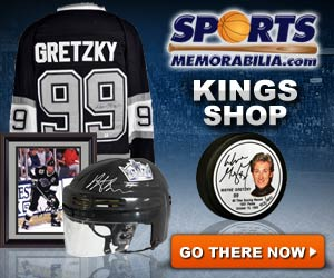 Shop for Authentic Autographed Kings Collectibles at SportsMemorabilia.com