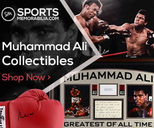 Shop for Hundreds of Muhammad Ali Collectibles at SportsMemorabilia.com