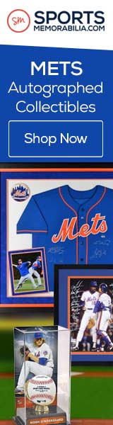 Shop for Authentic Autographed New York Mets Collectibles at SportsMemorabilia.com