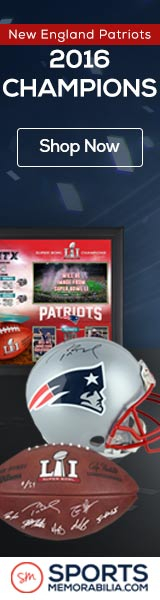 Shop for Authentic Autographed New England Patriots Super Bowl 51 Champs Collectibles at SportsMemorabilia.com