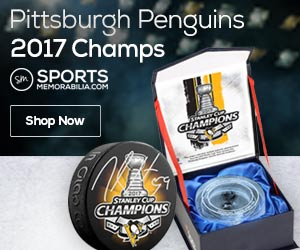 Shop for Pittsburgh Penguins 2017 Stanley Cup Champs Collectibles at SportsMemorabilia.com