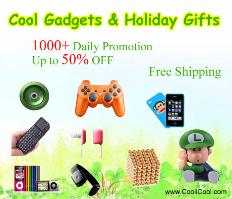 Cool Gadgets & Holiday Gifts at CooliCool.com