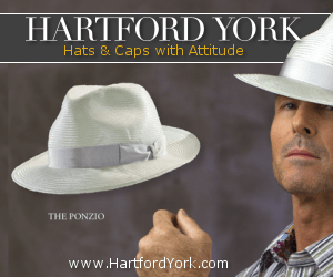 HartfordYork.com, Hats & Accessories from the World's Finest Designers