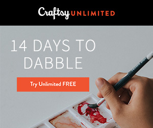 Get 2 Weeks of Craftsy Unlimited FREE 6/13 - 6/19/18 at Craftsy.com
