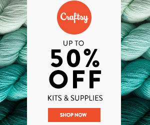Save Up To 50% Off Kits & Supplies at Craftsy.com through 1/28/18 11:59pm MST. No code needed.