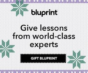 Gift A Bluprint Subscription at myBluprint.com now!