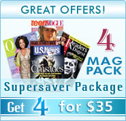 Magazine 4-Pack for $35