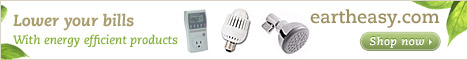 Lower your bills with energy efficient products from Eartheasy.com