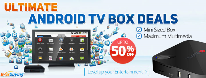 Ultimate Android TV Boxs: Up to 50% OFF