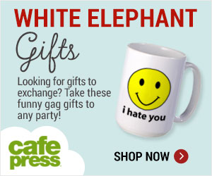 White Elephant Gag Gifts