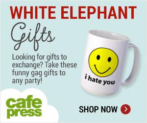 White Elephant Gag Gifts