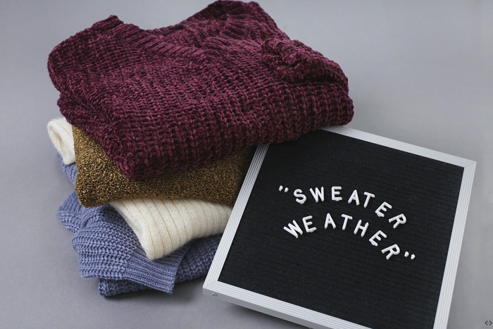Sweater Weather Sale and Coupon