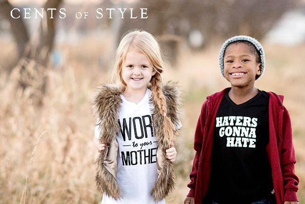 IMAGE: T-Shirts- 60% off & FREE SHIPPING w/ Code CYBER, +FREE Bracelet