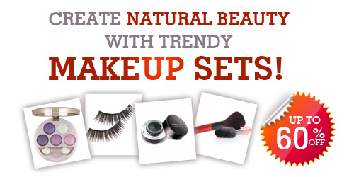 Up to 60% off on Makeup Set @Tmart.com
