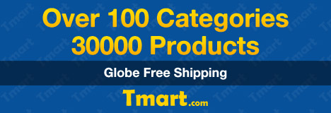 Worldwide Free Shipping @Tmart.com