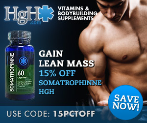 15% Off Somatrophinne HGH Banner - 300x250