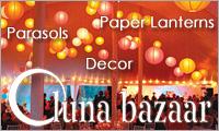 Paper Lanterns from Luna Bazaar