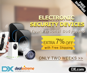 Electronic Security Devices Extra 7% OFF + Free Shipping