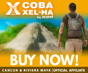 Enjoy a complete tour with a blend of culture climbing the highest pyramid in Mexicoand unlimited snorkel and meals at Xel-Ha