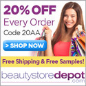 20% Off Skincare + Body + Free Shipping at beautytoredepot.com, code 20AA