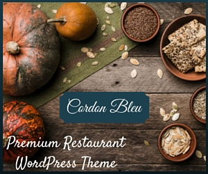 Cordon Bleu - Premium Restaurant WordPress Theme