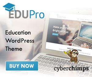 Educational WordPress Theme
