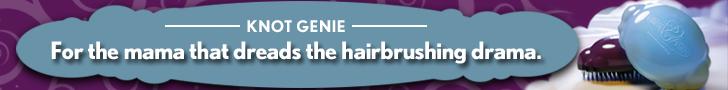Knot Genie Detangling Brush