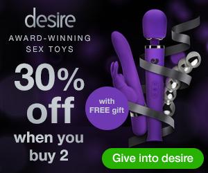 New! desire luxury sex toys - 30% off plus FREE gi