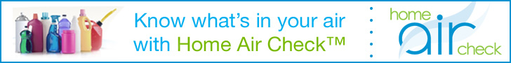 Know what's in your air with Home Air Check.