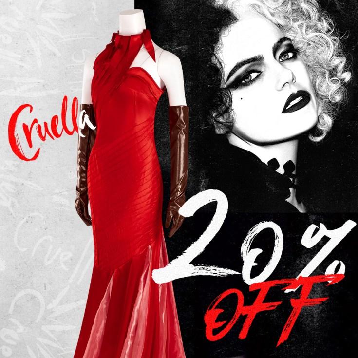 20% OFF for Cruella