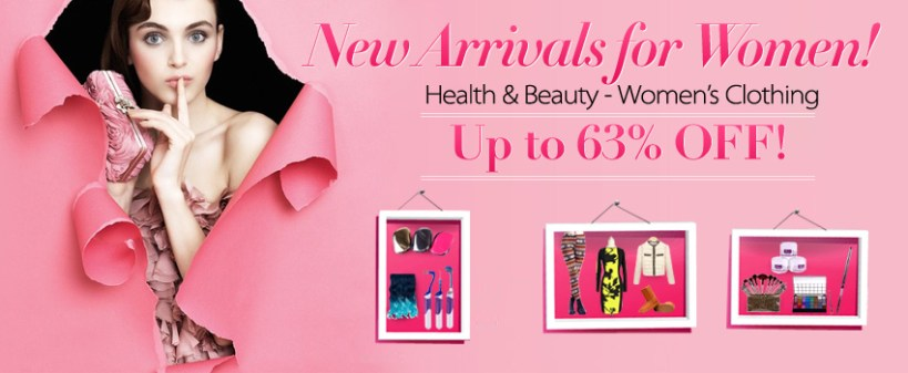 New Arrivals for Beautiful Women!