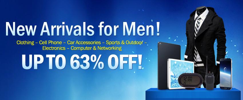 New Arrivals for Men!