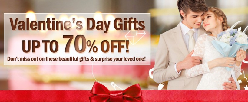 Get your loved ones fantastic gifts for Valentine's Day!