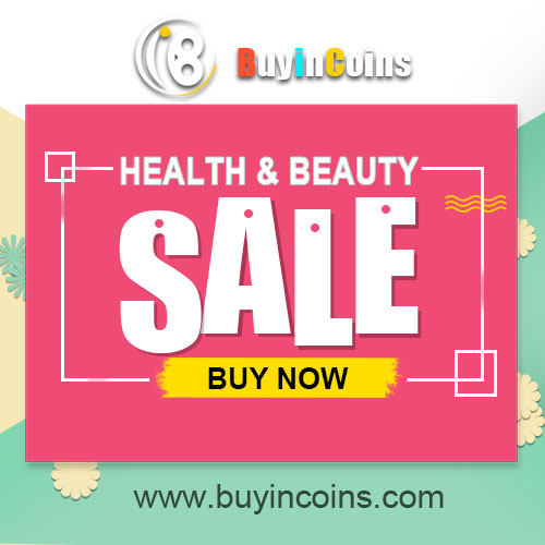 On Sale! Health & Beauty Items! Just in Buyincoins.com!