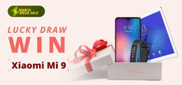 Play Lucky Draw & Win Xiaomi Mi9