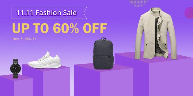 Geekbuying 11.11 Fashion Apparel/Bags&Shoes Sale