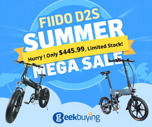 $445.99 for FIIDO D2S Folding Moped Electric Bike with coupon NNND2S & More Prices Dropped
