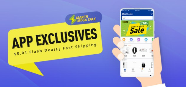 MARCH MEGA SALE - APP EXCLUSIVES
