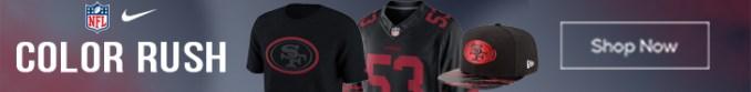 Get 49ers Color Rush Gear Here!