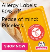 Get 50% Off Allergy Labels at Mabels Labels