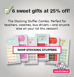 Check out the Stocking Stuffer Combo from Mabel's Labels