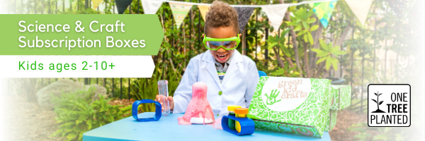 Green Kid Crafts Delivered Right to your Door