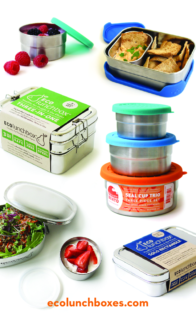 Healthy lunch boxes at ECOlunchbox