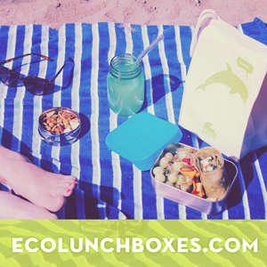 Beach and BBQ Picnic Kits at ECOlunchboxes.com