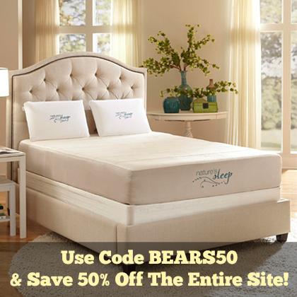 Nature's Sleep 50% Off Sale