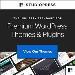 WordPress themes and plugins from StudioPress