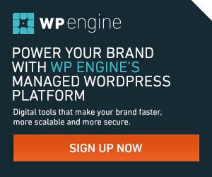 WP Engine Power your Brand with Managed WordPress